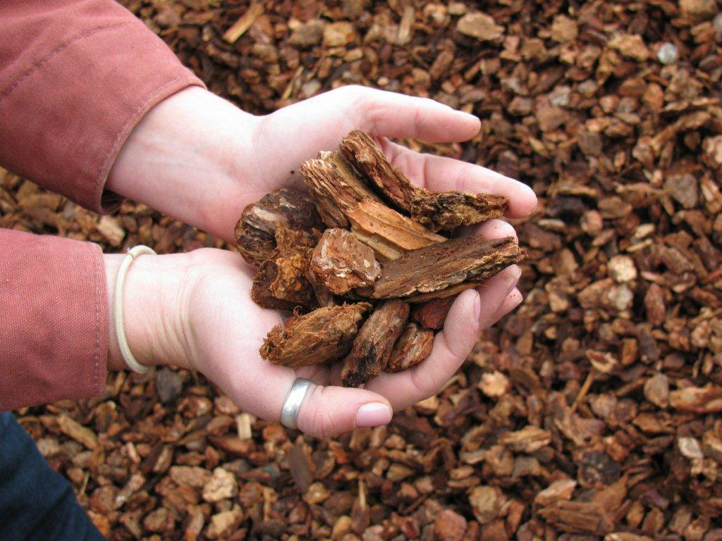 Redwood Bark Chips ~ Fir bark mulch